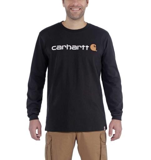 Koszulka Carhartt USA amerykańska EMEA Signature 10532917903 Odzież Męska T-shirty NH JVKZNH-2