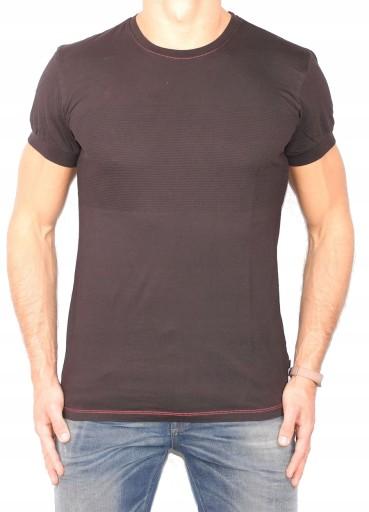 ONLY SONS + t-shirt CZARNA KOSZULKA nowa + L 9652357223 Odzież Męska T-shirty VQ MABFVQ-5