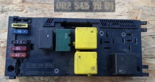 FUSE BOX MERCEDES E W210 0025451901