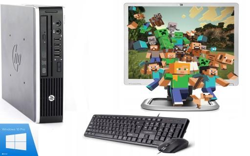 ZESTAW DO GIER PC HP 8300 i5 4rdzenie 4/250GB W10