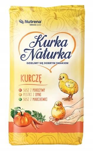 Kurka naturka Pasza Kurczę 25kg kruszonka
