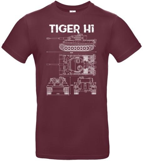 Koszulka Wz. Tech. TIGER H1, roz. XXL 10749255868 Odzież Męska T-shirty KV WGOWKV-6