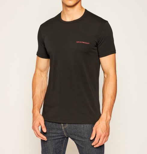 KOSZULKA EMPORIO ARMANI T-SHIRT MĘSKI / S 10428301618 Odzież Męska T-shirty FQ XBPDFQ-4