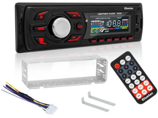 Radio samochodowe BLUETEC MP3 SD USB AUX PILOT