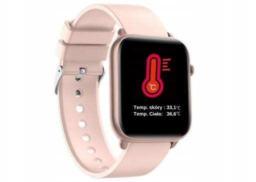 SMARTWATCH TERMOMETR Opaska Zdrowia Watchmark