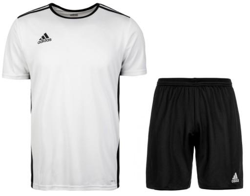 Adidas Komplet Stroj Sportowy Koszulka Spodenki S 8373202362 Allegro Pl
