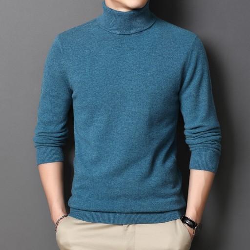 Wełniany sweter jesienno-zimowy męski pulower 10709695066 Odzież Męska Swetry HC AGNPHC-6
