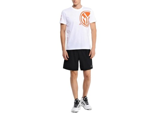 Biała Koszulka Męska sportowa Bluzka ADIDAS AA7992 9686844905 Odzież Męska T-shirty XQ HUQQXQ-4