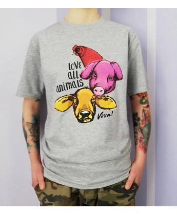 Koszulka męska LOVE ALL ANIMALS