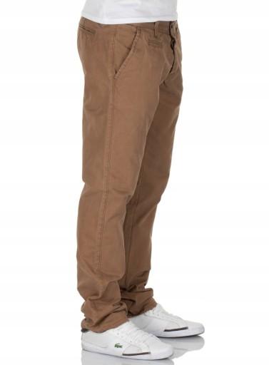 Jack Jones PREMIUM brązowe CHINOSY regularne 32/32 10433820644 Odzież Męska Spodnie UE CXBHUE-2