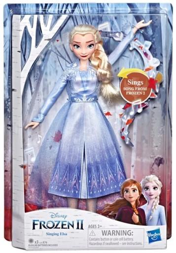 Spiewajaca Lalka Elsa Frozen 2 Kraina Lodu 8656262577 Allegro Pl