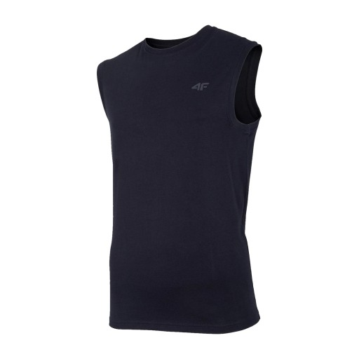 4F TSHIRT MĘSKI KOSZULKA BEZRĘKAWNIK GRANAT L 10643823330 Odzież Męska T-shirty GX BXGRGX-3