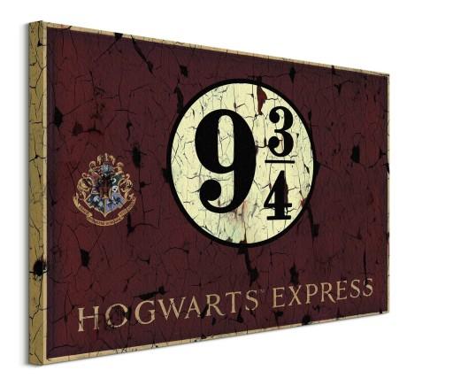 Harry Potter Peron 9 3 4 Obraz Na Plotnie 60x80 8499253742 Allegro Pl