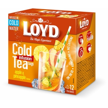 LOYD herbata na zimno jabłko i ananas 12TB.
