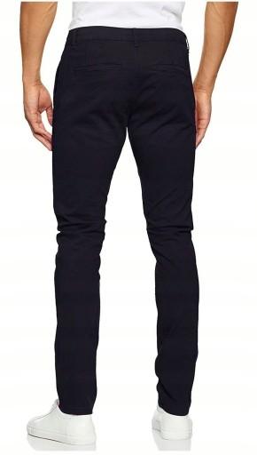 ONLY SONS Granatowe Czarne Chinosy Slimowane 31/32 10502999581 Odzież Męska Spodnie CR ARLHCR-8