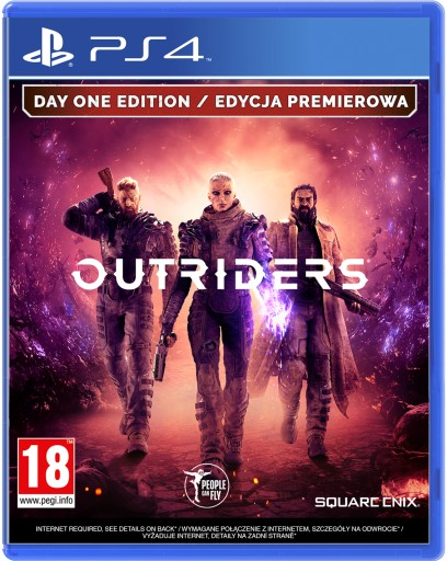 Outriders Day One Edition Premierowa Pl Ps4 Nowa Stan Nowy 9239225434 Allegro Pl