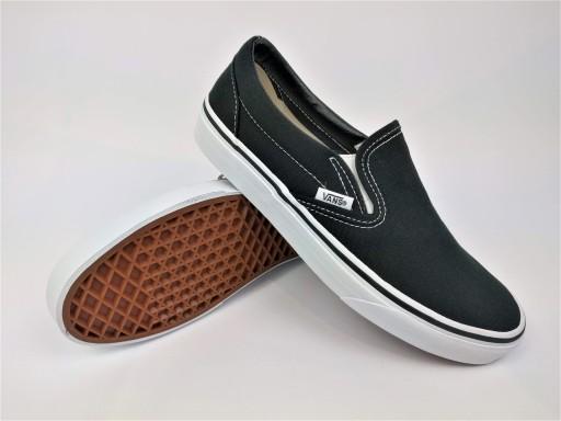 Buty VANS CLASSIC SLIP-ON black [45]
