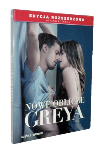 DVD - NOWE OBLICZE GREYA(2018) - nowa folia lektor