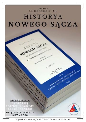 HISTORYA NOWEGO SĄCZA I-III - Reprint
