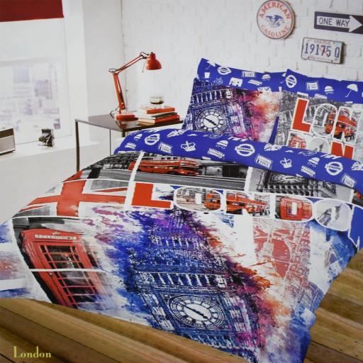 POŚCIEL Bawełniana 160x200 100% Bawełna, Londyn