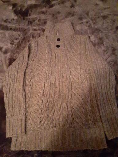 Ciepły swetr męski 10783245517 Odzież Męska Swetry ZW OENDZW-1