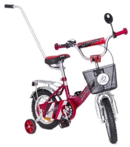 Rower BMX 12 Dziecięcy Rowerek KOSZ PROWADNIK