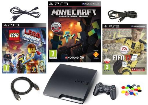 Konsola Ps3 Playstation 3 Slim Pad Minecraft Gry 9654381972 Sklep Internetowy Agd Rtv Telefony Laptopy Allegro Pl