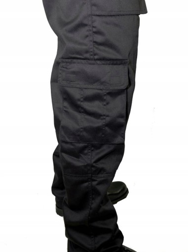 SPODNIE ROBOCZE BOJÓWKI DO PASA POTRÓJNE SZWY r 50 10496455373 Odzież Męska Spodnie IA EBUSIA-3