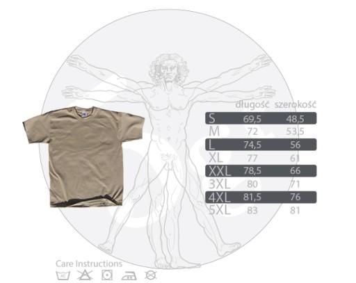 koszulka NAJLEPSZY GEODETA prezent 8769638393 Odzież Męska T-shirty FY EWJJFY-1