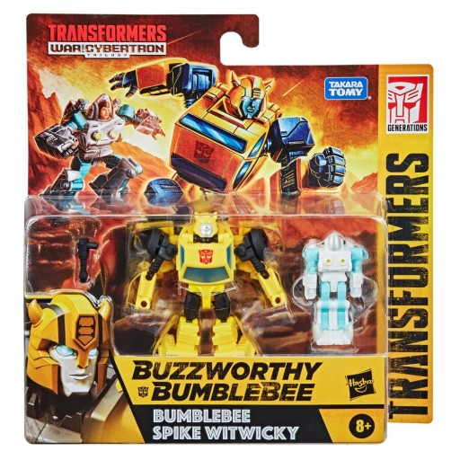 Transformers Bumblebee Spike Witwicky 2-Pack F0926