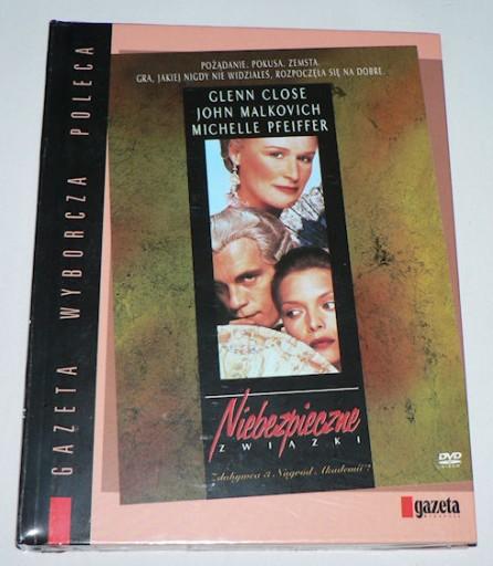DVD - NIEBEZPIECZNE ZWIĄZKI(1988)- K.Reeves folia