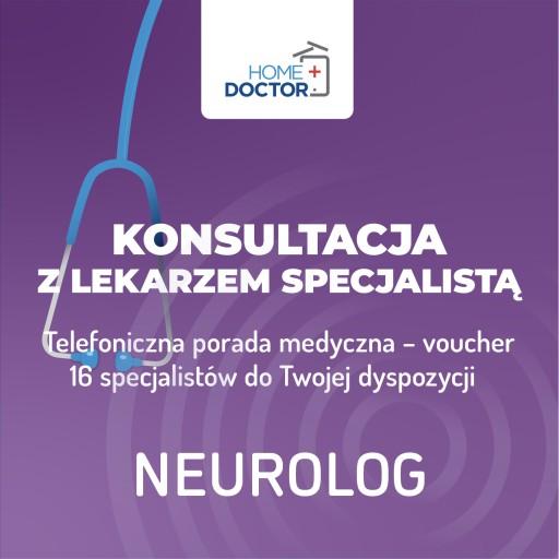 TELEKONSULTACJA Z LEKARZEM NEUROLOGIEM – voucher