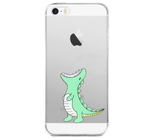 Iphone 5 5s Se Case Etui Pokrowiec Dinozaur 8648409112 Sklep Internetowy Agd Rtv Telefony Laptopy Allegro Pl