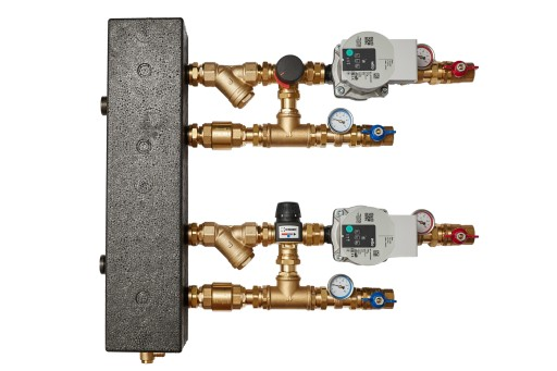 Zestaw mieszający- sprzęgło hydraul. VTA372+VRG132