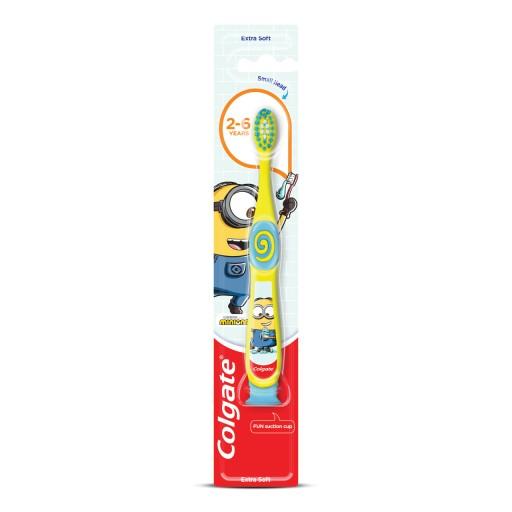 COLGATE szczoteczka do zębów dla dzieci 2-6 LAT