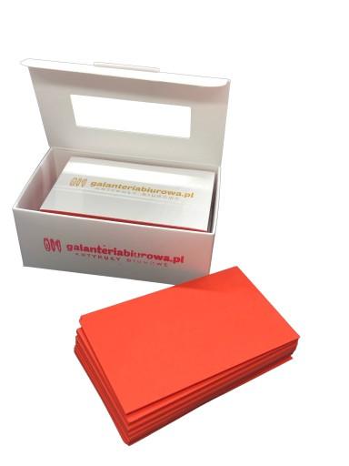Mini Karteczki Notes Kartoniki Czerwone 50x80 Mm 9549316527 Allegro Pl