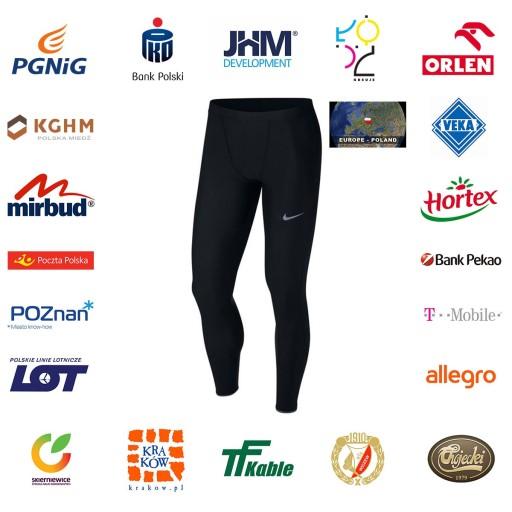 Spodnie Nike Run Mobility Tight M L 9840697361 Odzież Męska Spodnie AB RSPTAB-9