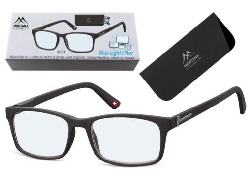 Okulary Do czytania i Komputera z Antyrefleksem plusy