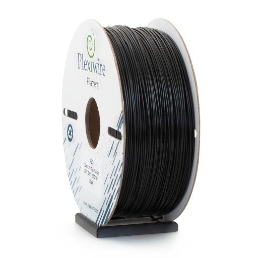 ABS+ Filament Plexiwire 1,75 mm Czarny 1kg/400m