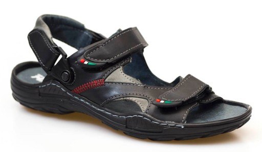 czarne skÓrzane sandały męskie MATEOS 362 10727730851 Obuwie Męskie Męskie IY IIMBIY-7