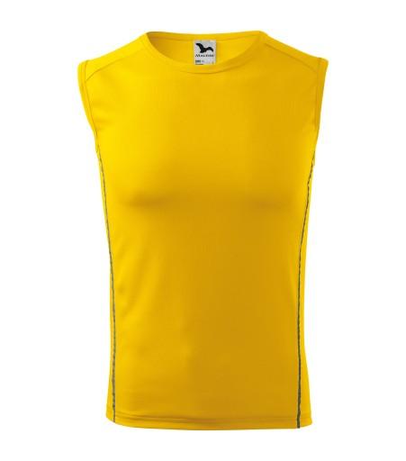 Koszulka niepotka sportowa XL żółty 125 ADLER