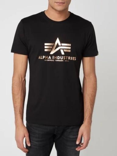 ALPHA INDUSTRIES KOSZULKA MĘSKA M T-SHIRT HIT 9648258787 Odzież Męska T-shirty MM ZHCNMM-4