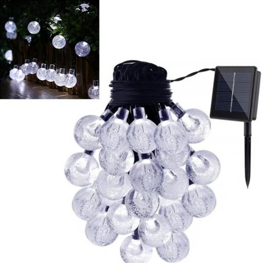 6.5M LAMPKI BALKONOWE ZEWNĘTRZNE DO OGRODU BIAŁE