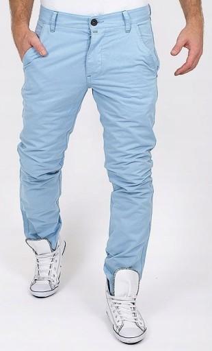 JACK JONES niebieskie CHINOSY spodnie JEANSY 29/32 9707910400 Odzież Męska Spodnie WN CQEYWN-6