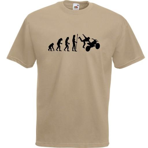 Koszulka z nadrukiem motocyklista motocykl XXL 10517722122 Odzież Męska T-shirty MP CZIRMP-3