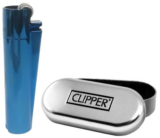 Купить Clipper Металлическая зажигалка синяя плюс кейс : отзывы, фото и характеристики на Aredi.ru