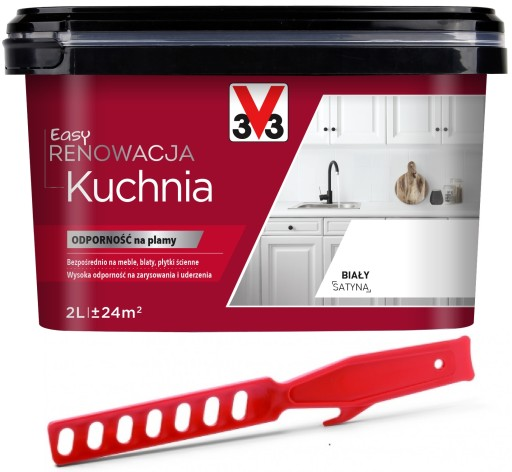 V33 Farba Renowacja Kuchnia Meble Kuchenne 2l 6634794023 Allegro Pl