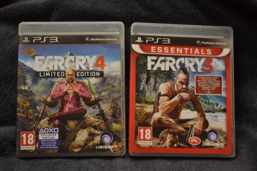 Gry Far Cry 3 Pl Far Cry 4 Bdb Playstation Ps3 Stan Uzywany 9133847473 Allegro Pl