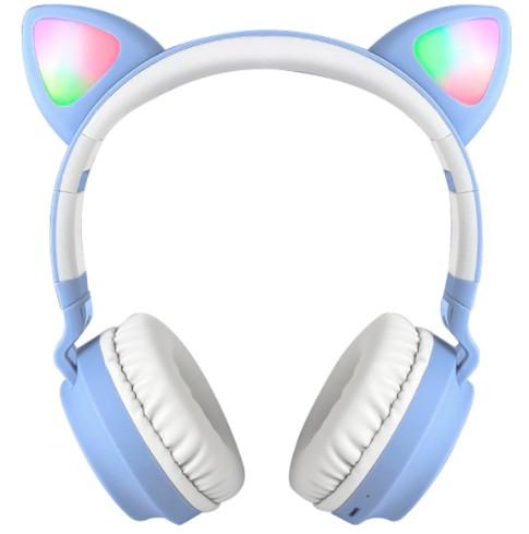 Sluchawki Nauszne Dla Dzieci Led Swiecace Uszy Kot 9504401930 Sklep Internetowy Agd Rtv Telefony Laptopy Allegro Pl