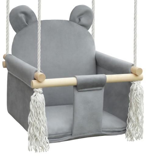 Hustawka Dla Dzieci Do Domu Ogrodu Mis Grey Velvet 8597248088 Allegro Pl